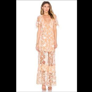 For Love & Lemons mia maxi dress